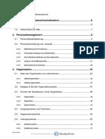 ABWL Eigene Zusammenschrift Aller Kapitel