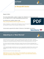 Nonprofit Finance Fund 2011 State of the Sector Survey