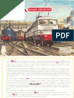 Modellismo Ferroviario - Trenini elettrici LIMA (catalogo '64-'65)
