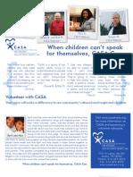 CASA Volunteer Brochure - 2011