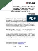 GUAYMÁS E DURÁN, Educación Intercultural y Procesos de Reconocimiento Identitario. Una Experiencia en Un Contexto Andino Del Noroeste Argentino