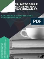 2019 EIPCS Fontes, Métodos e Abordagens Nas Ciências Humanas Livro