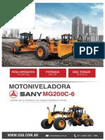 Motoniveladora SMG200-6 Compressed