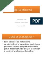 DIABETES MELLITUS FREDDY
