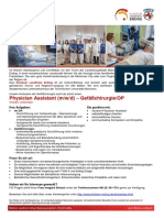 Stellenbeschreibung - 77_21 Physician Assistant (M_w_d) – Gefäßchirurgie_OP