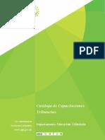 Catálogo capacitaciones 2021