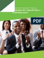 Programa de Capacitación a Contribuyentes 2021