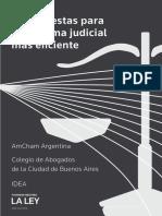 La reforma judicial de Amcham, IDEA y el Colegio de Abogados