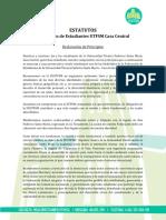 2017Estatutos FEUTFSM Casa Central
