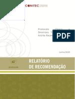 Relatrio Artrite Reumatoide CP 21 2020