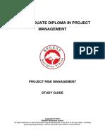PGDPM Project Risk Management