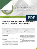 Gobierno de México (2018). Resultados de la modernización del acuerdo comercial entre México, Estados Unidos y Canadá