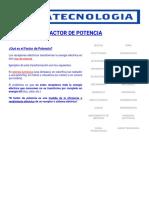 Factor de Potencia_ Que es, Calcularlo, Corregirlo y Ejercicios
