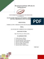 CASO PRACTICO EL ESTADO DE CAMBIOS EN EL PATRIMONIO