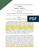 MARX - PROCESSO DE PRODUCAO