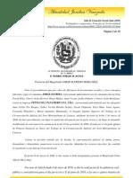 Sala Casacion Social (Jun-2010) Trabajadores expatriados, Principio de Territorialidad Laboral Criterio Vigente