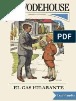 El Gas Hilarante - P G Wodehouse