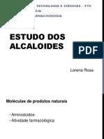 Estudo dos alcaloides
