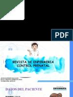 REVISTA DE ENFERMERIA CONTROL PRENATAL