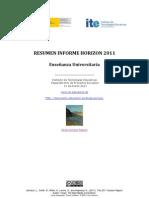 Informe Horizon ITE Marzo 2011