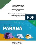 EnFudII_matematica_7ªano_slide Aula 04