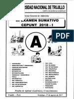 III Examen Sumativo CEPUNT 2018-I (A)