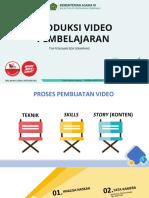 Materi Produksi Video Pembelajaran