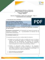 Guia de actividades y Rúbrica de evaluación- Fase 1 - Reconocimiento de la estrategia