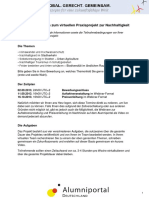 2013_Detailinformationen_Praxisprojekt