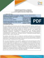Syllabus Del Curso Logística Comercial