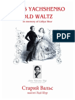 Cover-OLD WALTZ - IN MEMORY OF LIDIYA SHUR_Ruckseite