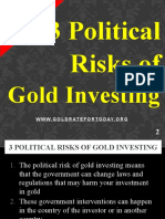 3 Political Risks of Gold Trading