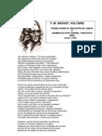 VOLTAIRE, Poema sobre el desastre de Lisboa