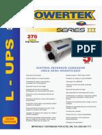Brochure Serie SIII ES