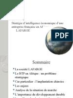 Stratégie des entreprises française d'intelligence économique en Afrique