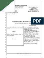 Frudakis v. Merck - Complaint