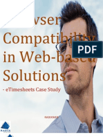 Browser Compatibility in Web-Based Solutions - eTimesheets Case Study