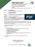 INFORME TEC DEL SUPERVISOR AMPLIACION DE PLAZO