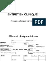 Résumé Clinique Minimum