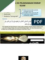 KAITAN AKAL DG PELAKSANAAN SYARIAT ISLAM