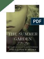 Saga cavaleiro de Bronze Vol. 3  - O Jardim de Verão - Paullina Simons