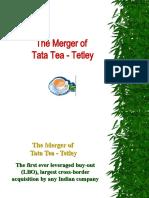 The Merger of  Tata Tea and Tetley