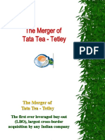 The Merger of  Tata Tea and Tetley