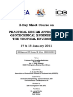 Practical Design Approach to Geotechnical Engineering