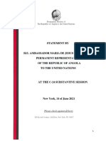 Angola - Statement - At the C-24 Substantive Session - 14 June 2021 (1)