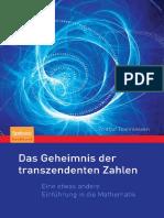 Das Geheimnis Der Transzendenten Zahlen_ Eine Etwas Andere Einführung in Die Mathematik ( PDFDrive )