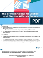 Local Election Officials Survey