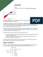 Finance concepts