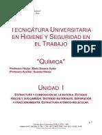 Unidad 1 Qca Tuhst Utn 2020 (32hs)