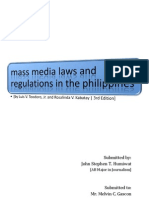 MASS MEDIA LAWS AND REGULATIONS